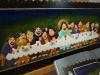 Ostatnia-wieczerza/obraz, rzeźba w drewnie przedstawiający Ostatnią wieczerze Chrystusa