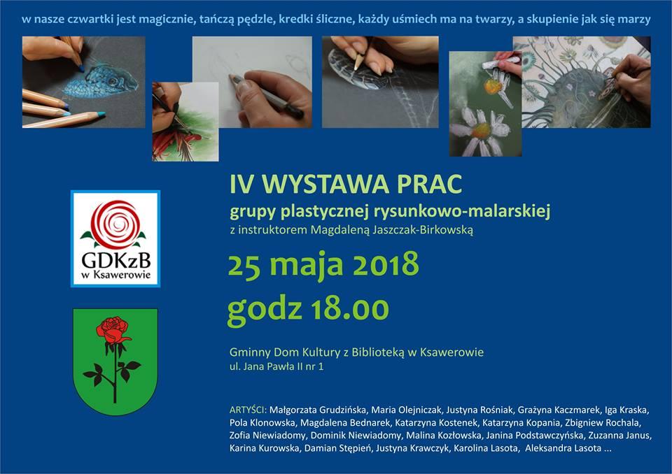 IV wystawa malarska zaproszenie