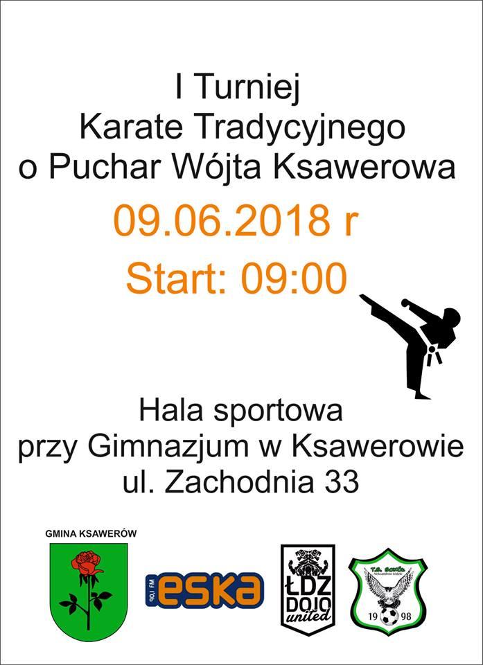 I turniej Karate zaproszenie