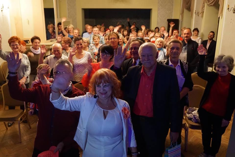 Kabaret Xavery i publiczność