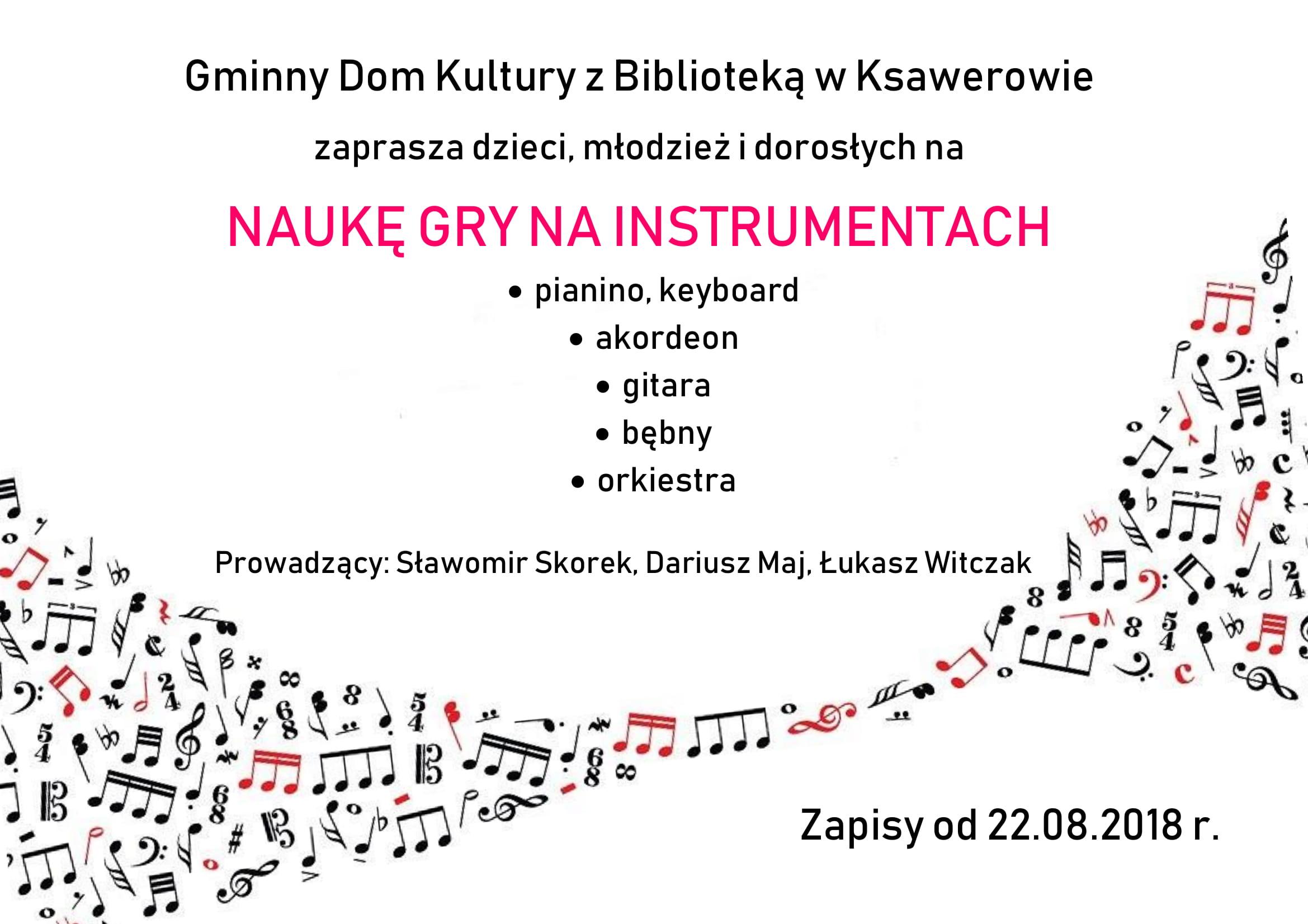 zajęcia instrumentalne