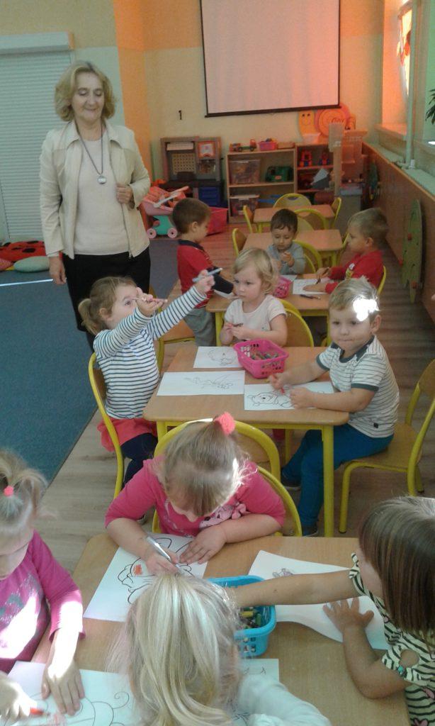 Przedszkolaki na Woli