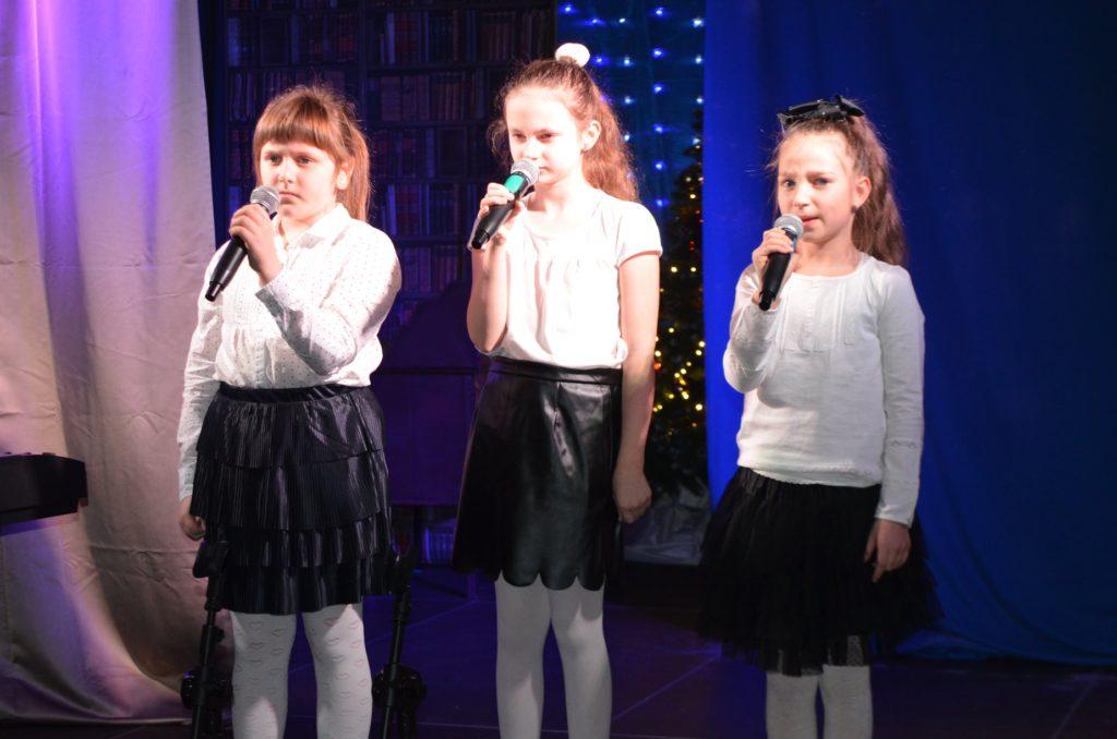 Występ wokalny dzieci