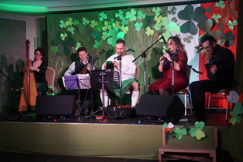 zespół muzyki irlandzkiej