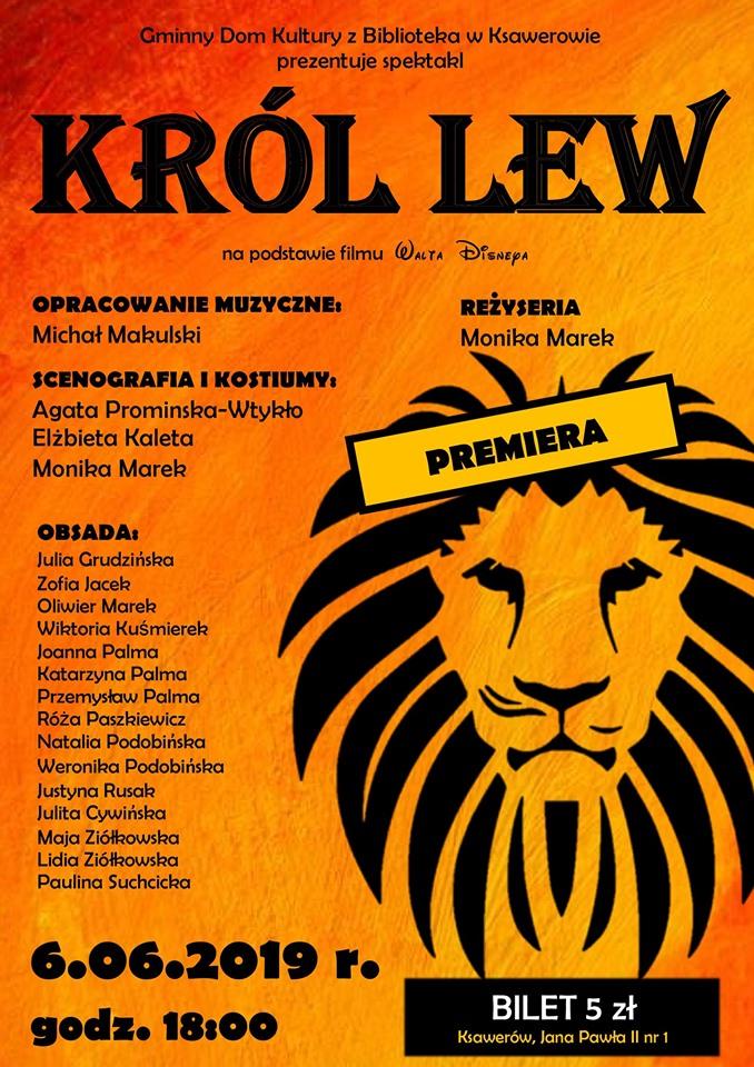 Premiera Król Lew