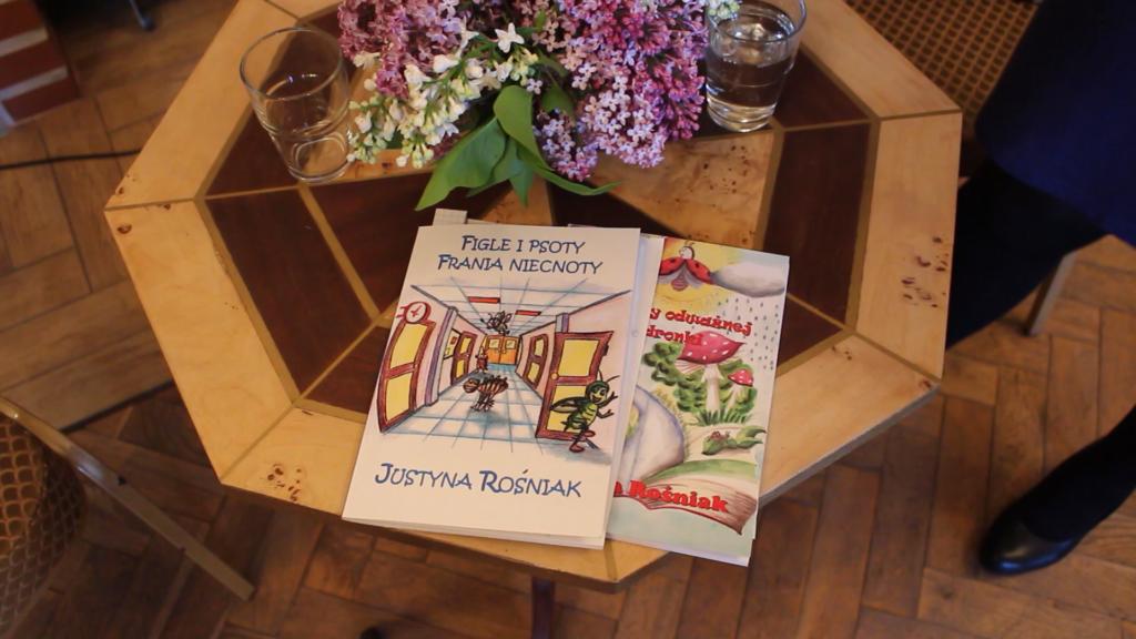 Książki pani Justyny
