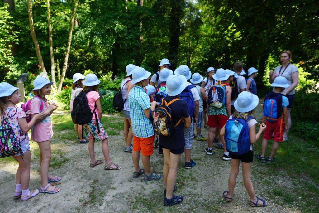 Dzieci w Arboretum