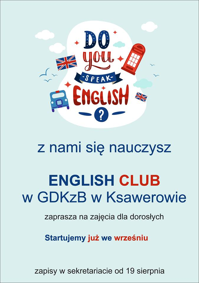 kurs językowy, English club