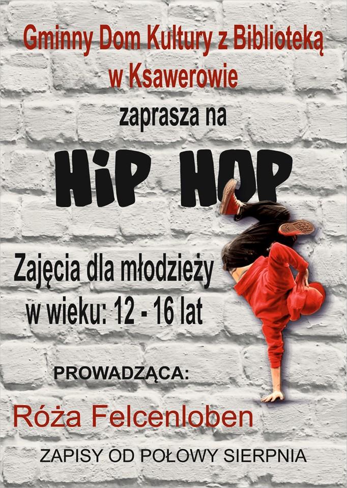 zapisy na hip hop, taniec z Różą Felcenloben