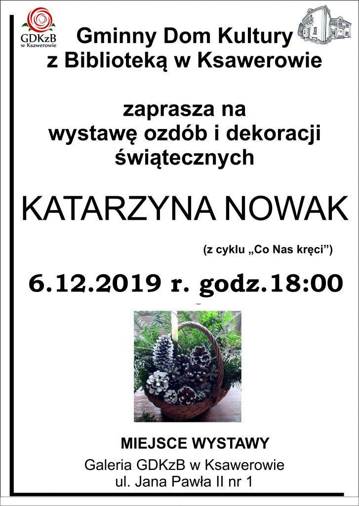 Wystawa Katarzyny Nowak