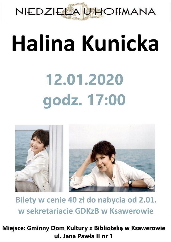 Koncert Haliny Kunickiej w Ksawerowie
