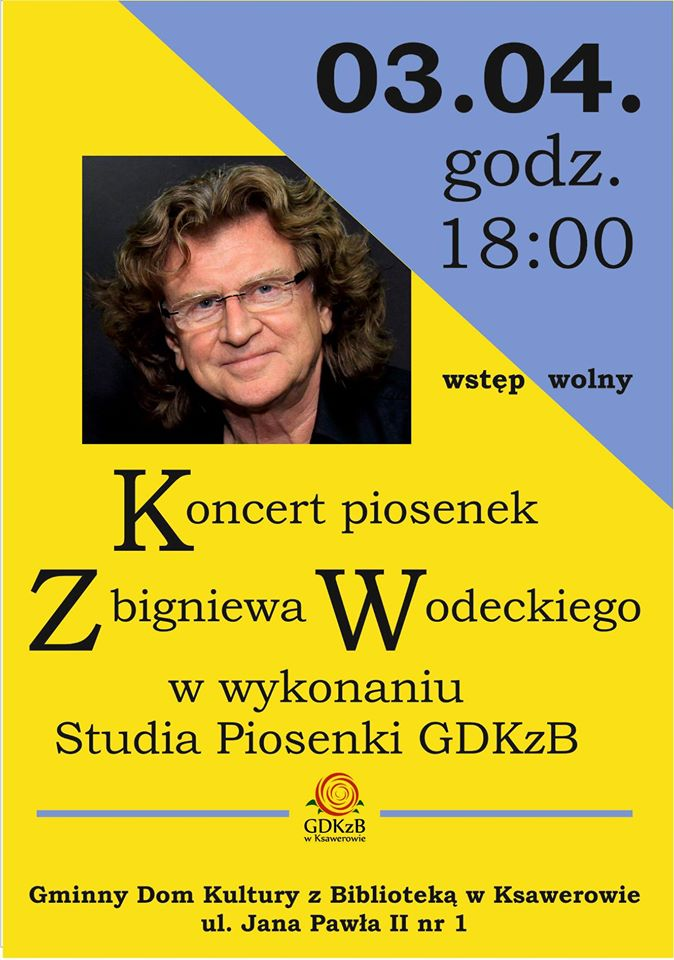 Koncert piosenek Wodeckiego