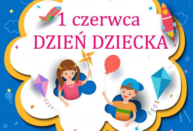 dzień dziecka kartka z kalendarza
