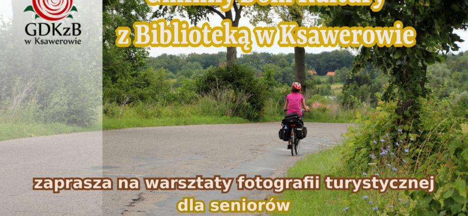 plakat nformacyjny warsztaty fotografii