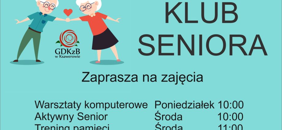 plakat klub seniora