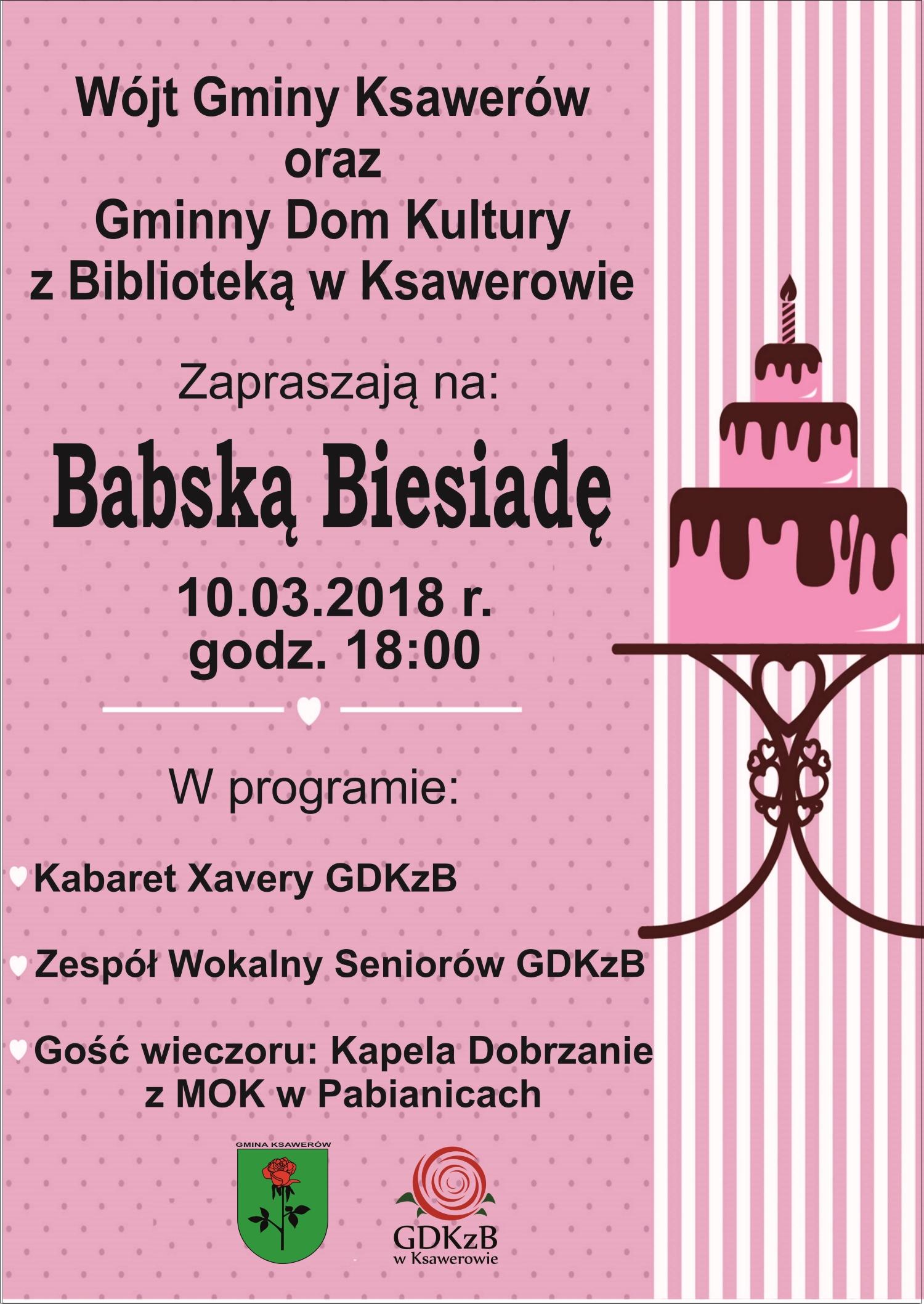 Babska biesiada zaproszenie