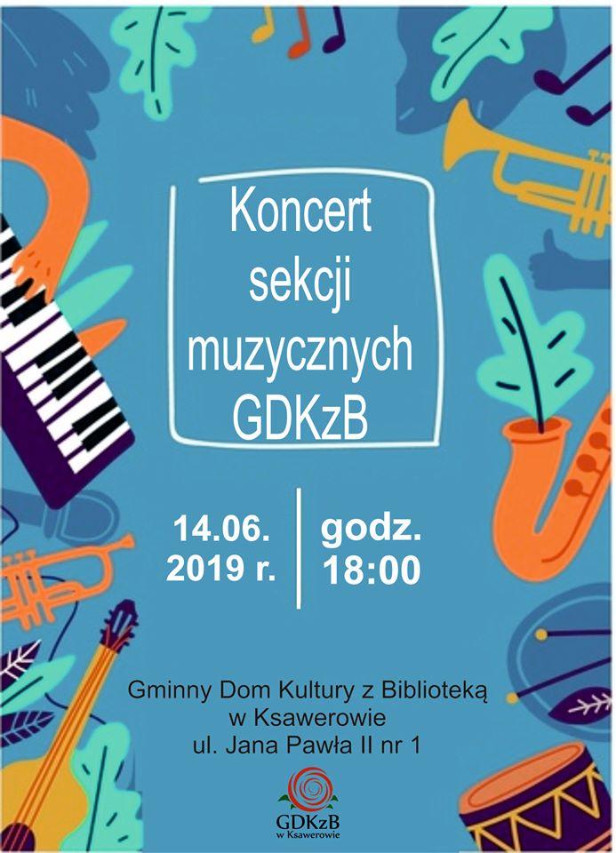 Koncert sekcji muzycznych