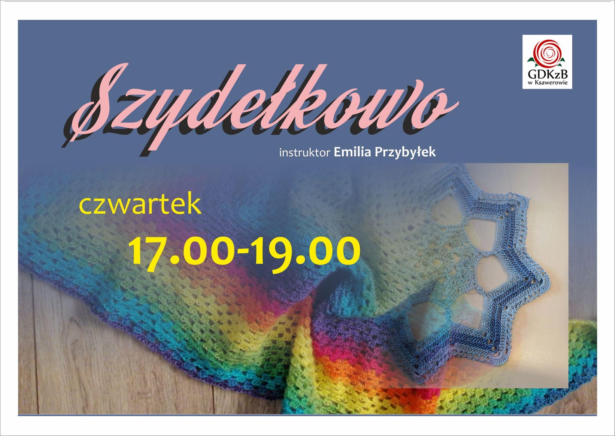 instruktor Emilia Przybyłek , czwartek 17:00 - 19:00