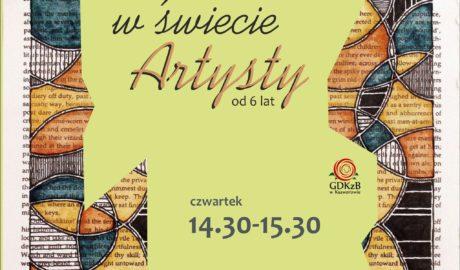 artysty czwartek 14:30 - 15:30 , instruktor Magdalena Jaszczak Birkowska